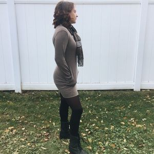 Dresses & Skirts - Long-Sleeve Sweater Dress with pockets